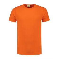 T-SHIRT L&S 1269 orange CREWNECK COT/ELAST SS FOR HIM